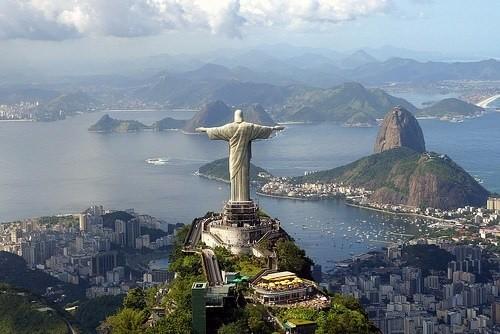 Favelas Capacabana Rio de Janeiro