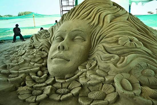 International Sand Art Festival at Odisha