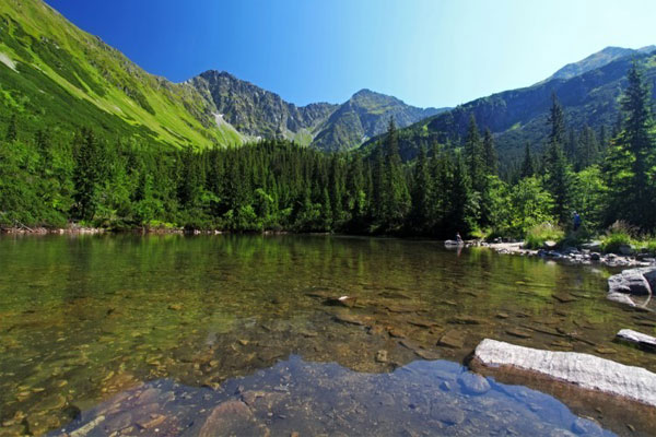 High Tatras best places in  Slovakia