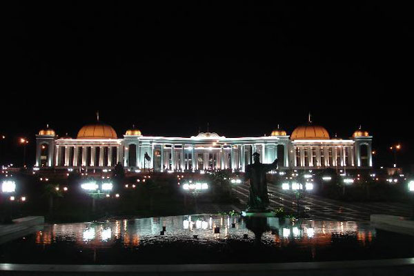 Turkmenistan best travel place