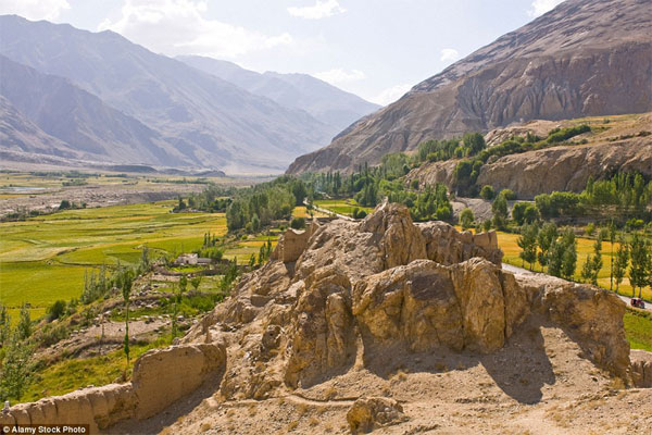 Tajikistan fastest-growing tourist place