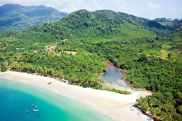 pristine beaches in Sierra Leone