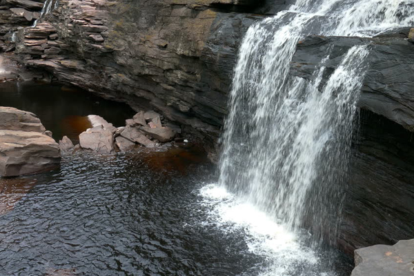 Waterfalls in Canaima National Park Gran Sabana,