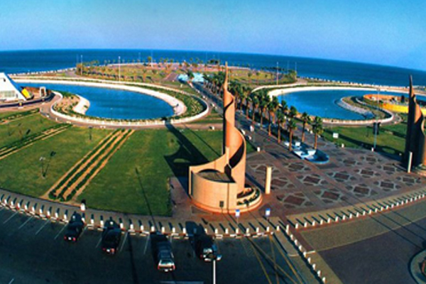Dammam City beautiful beaches and excellent fishing spots.