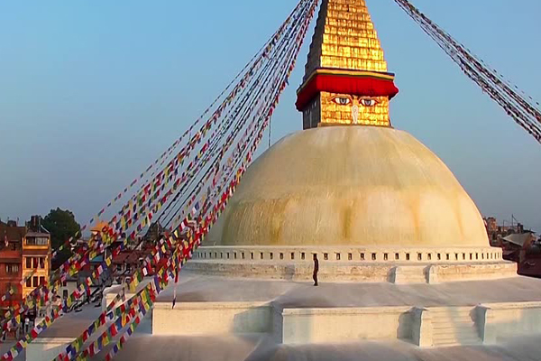 The Boudhanath Stupa