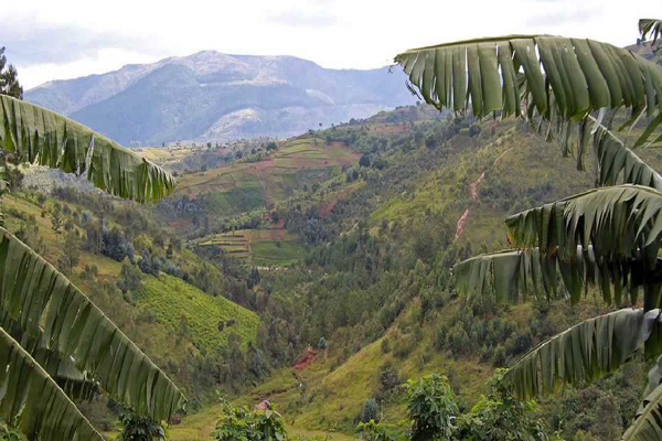 Burundis Beautiful Landscape