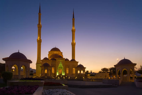 Said Bin Taimur Mosque in Al Khuwair,