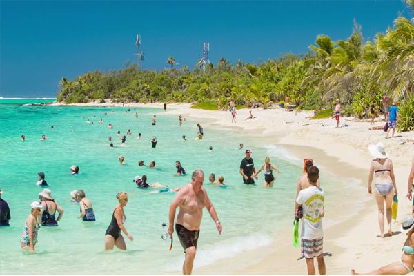 Mystery Island Vanuatu Beach