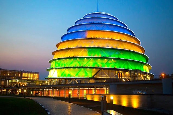 RWANDA, KIGALI downtown
