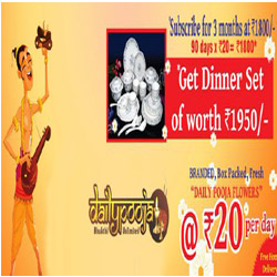 Get Dinner Set At Dailypooja