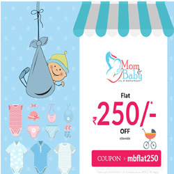 Flat Rs 250 Off On Sitewide At Momandbaby