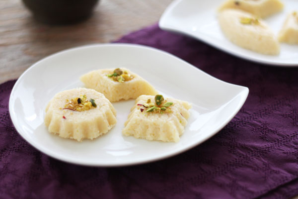 Nariyal Barfi recipe for Raksha Bandhan