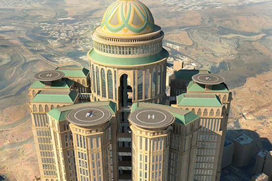 Mecca to get the world s biggest hotel in 2017