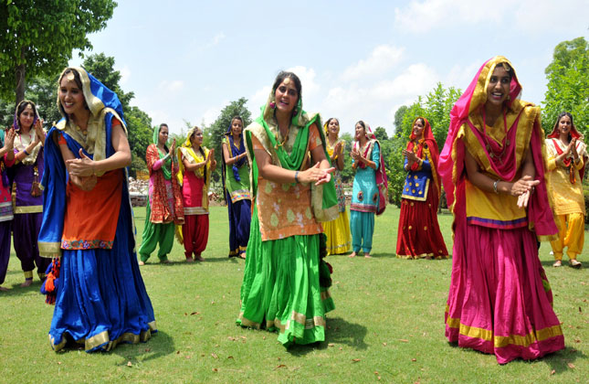 Hariyali Teej festival in india