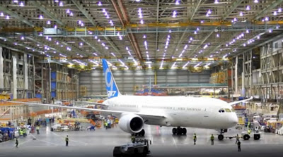 Boeing completes its first 787-9 Dreamliner