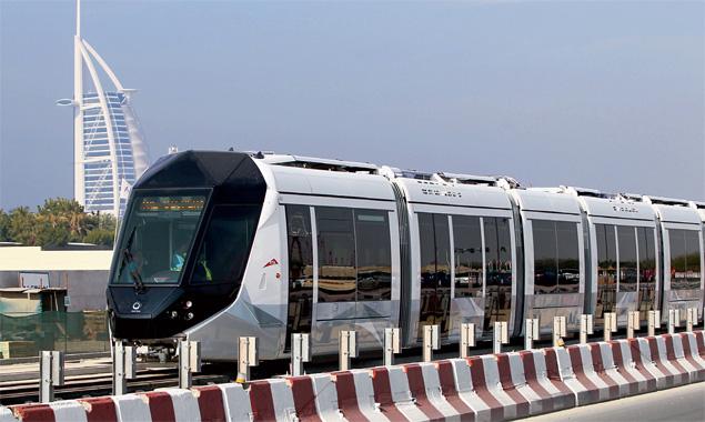 Dubai tram system to start operation on November