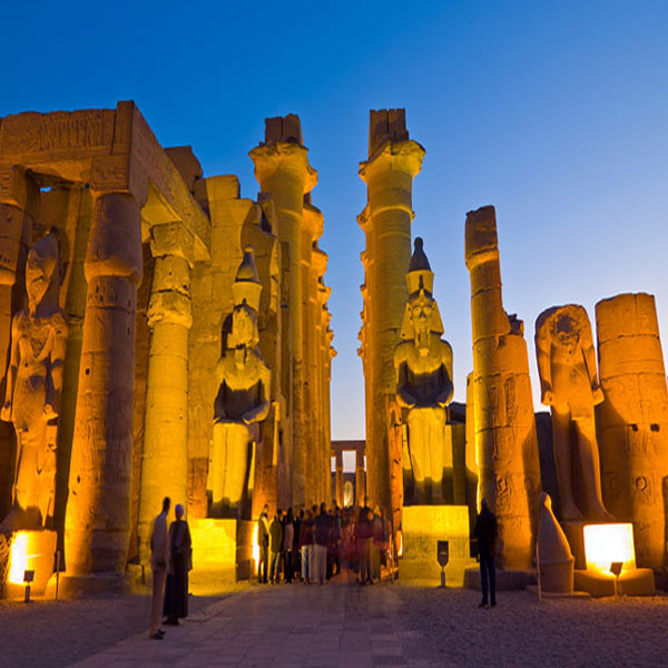 Luxor the great Pyramids