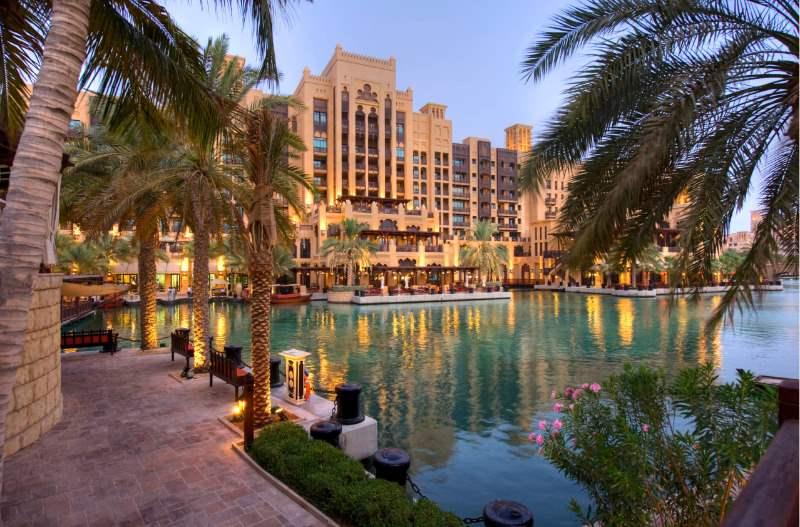 Madinat Jumeirah resort is Off