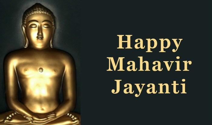 Mahavir Jayanti 29th March