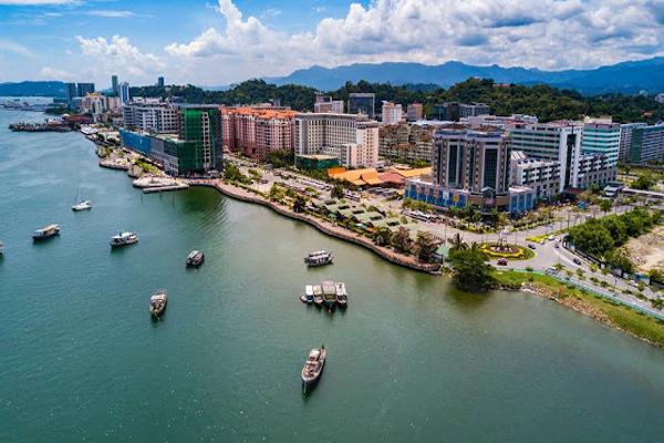 Kota Kinabalu City in Malaysia