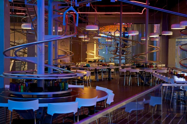 Roller Coaster Restaurant opens at Yas Mall