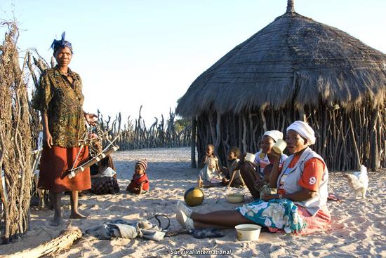 Tourists urged to boycott Botswana over treatment of Bushmen