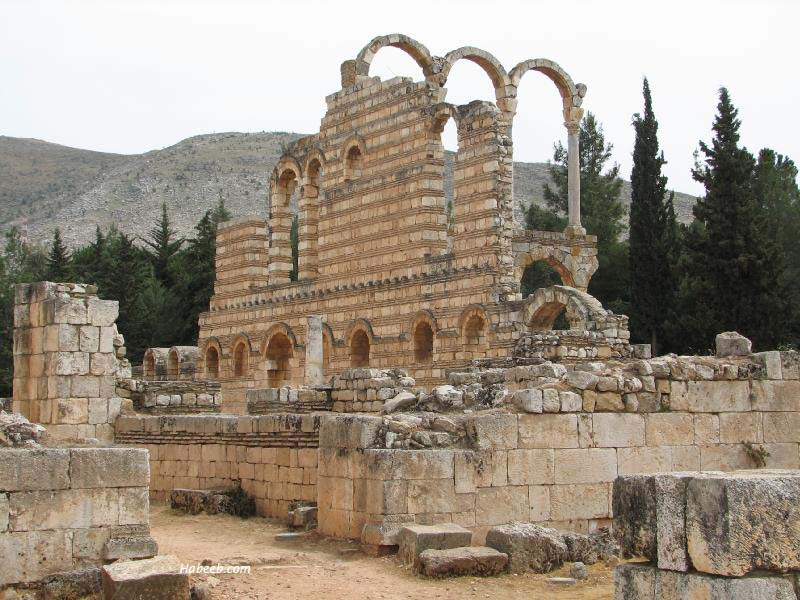 Water from the rock - The Anjar Beirut