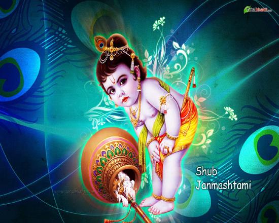 Indian Festival - Krishna Janmashtami