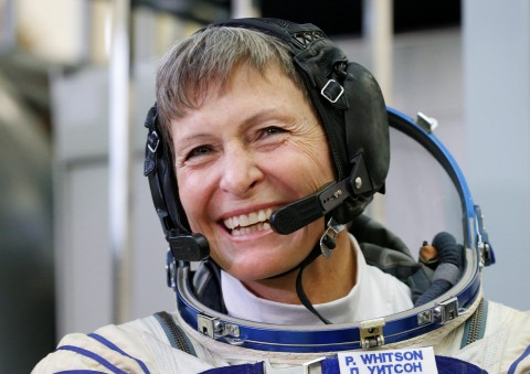 Astronaut to become oldest woman to travel in space