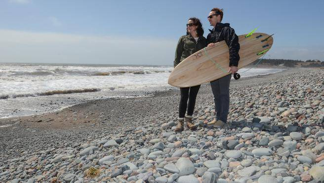 Local surf enthusiasts turn passion into world-travel busine
