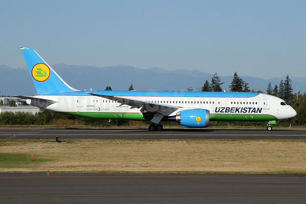 Uzbekistan Airways to fly Dreamliner to Southeast Asia