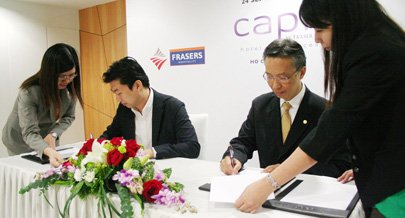 Portfolio of frasers hospitality got expanded in indian mark