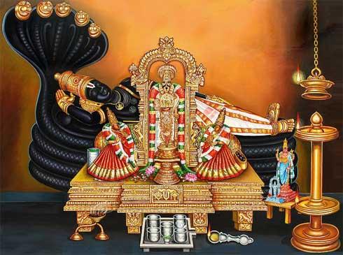 Shravana Putrada Ekadashi festival in India