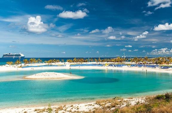 Bacardi Bar Opens on Norwegian Cruise Line Great Stirrup Cay