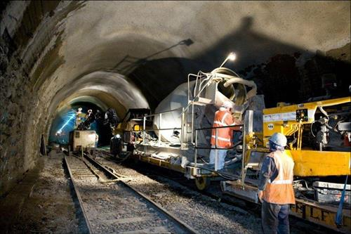 15m to improve the railway at Whiteball tunnel