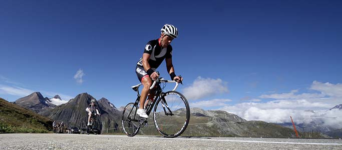 Alpine cycling without the effort, Switzerland