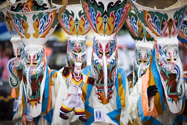 Phi Ta Khon Festival in Dan Sai from 16-18 June 2018