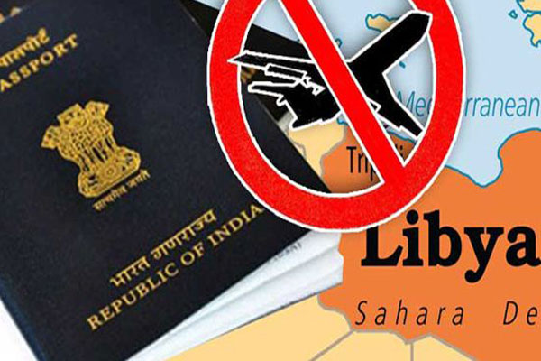 Govt bans Indians from travelling to Libya
