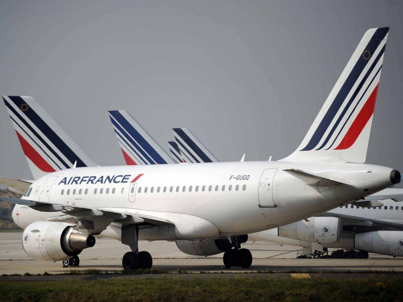 what France air-traffic strikes: First walkout of year leave