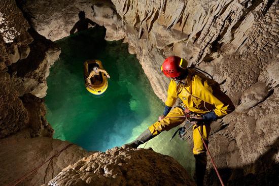 Voronya Cave, World Deepest Cave