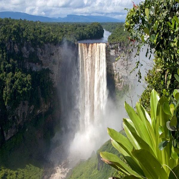 Kaieteur Falls in Kaieteur National Park