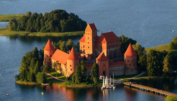 Trakai castle (Traku pilis), Lithuania