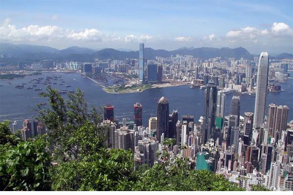 Central District, Victoria Harbor, Victoria Peak, Hong Kong Island