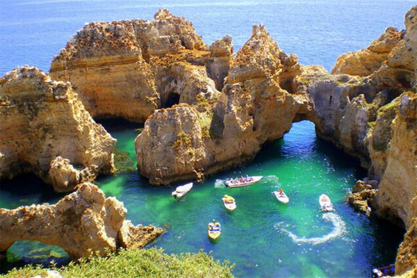 Ponta da Piedade Magical Places in Portugal