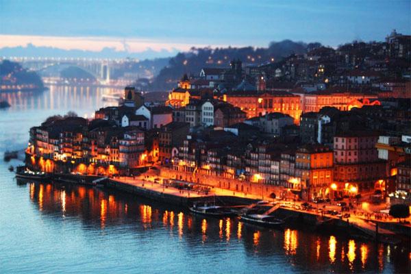 As belezas do Porto, em Portugal