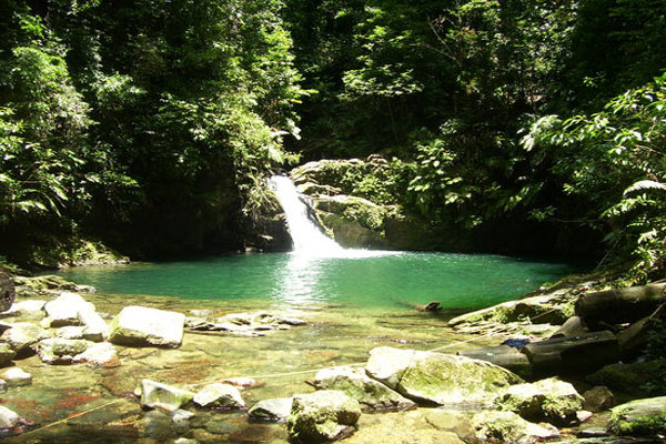 Rio Seco Waterfall and Pool