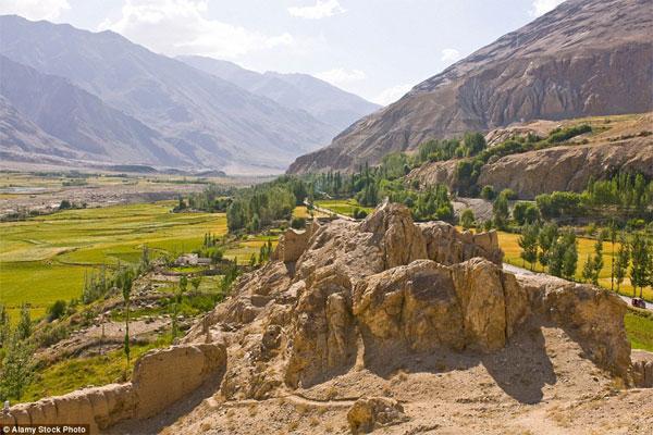 Tajikistan fastest-growing tourist place