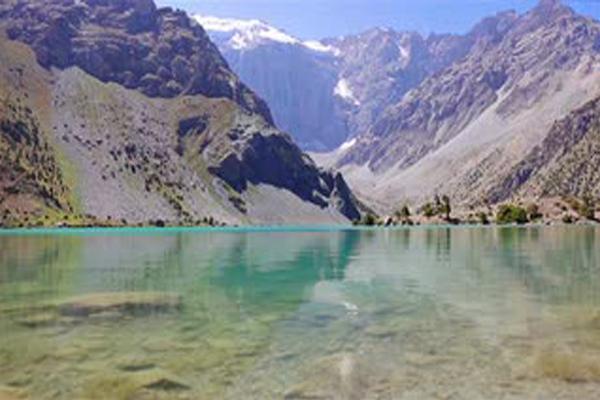 High mountain lakes Kulikalon, Tajikistan