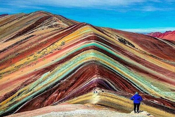 Rainbow Mountains Peru