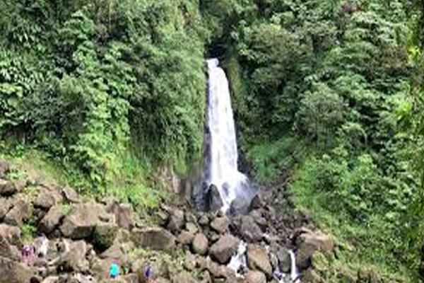 Trafalgar Waterfalls, Dominica
